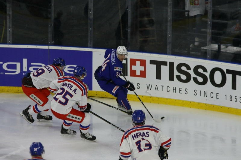 Photo hockey  -  : France (FRA) vs République Tchèque (CZE) - Bis Repetita !