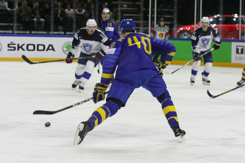 Photo hockey Championnats du monde -  : Suède (SWE) vs France (FRA) - La Suède bat la France!