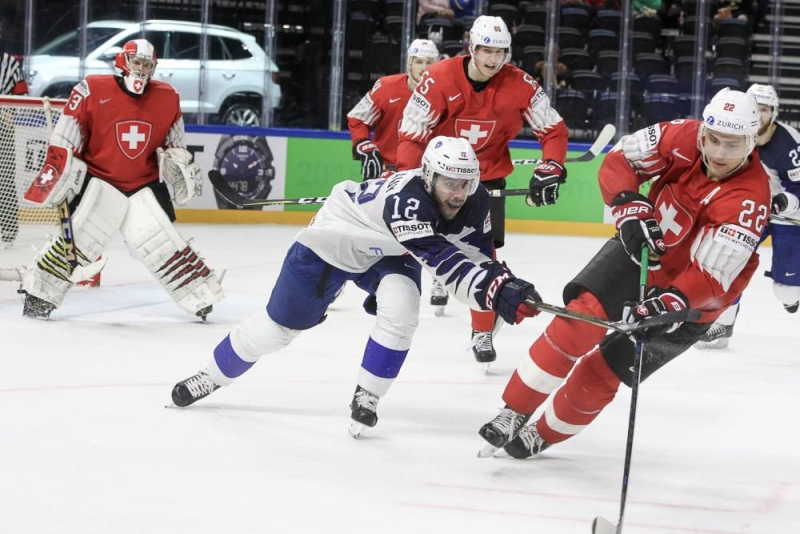 Photo hockey Championnats du monde -  : Suisse (SUI) vs France (FRA) - Merci pour tout !