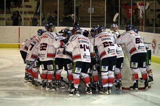 Hockey sur glace coupe de france coupe de france 1 16 mes de finale caen vs cholet les - Coupe de france de hockey ...