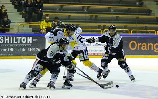 Photo hockey Coupe de France - Coupe de France 1/2 finale : Rouen vs Bordeaux - CDF : Vers une finale historique ?