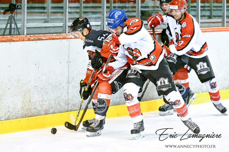 Photo hockey Coupe de France - Coupe de France 1er Tour : Annecy vs Les Pingouins - Les chevaliers du lac font naufrage