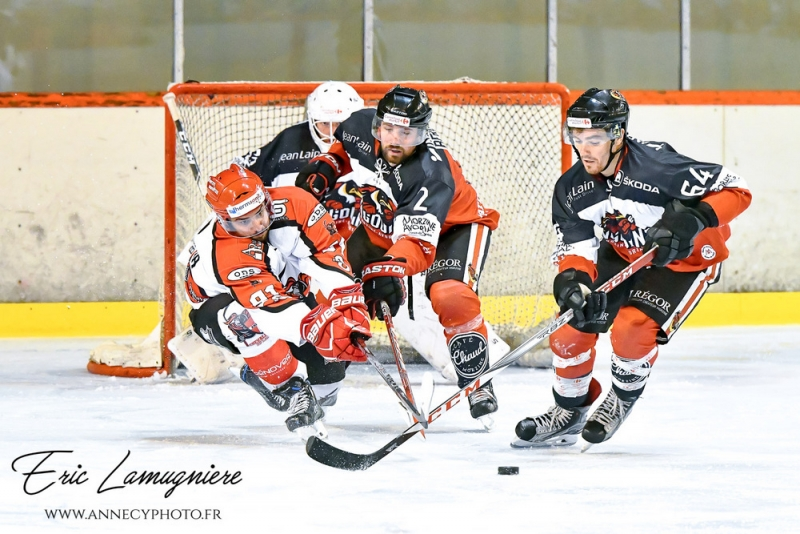 Photo hockey Coupe de France - Coupe de France 1er Tour : Annecy vs Morzine-Avoriaz - Les chevaliers du lac font naufrage