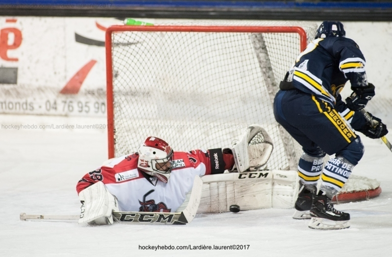 Photo hockey Coupe de France - Coupe de France 1er Tour : Villard-de-Lans vs Annecy - CDF: logique respectée