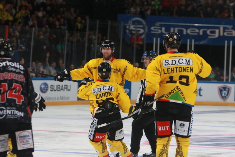 Photo hockey Coupe de France - Coupe de France Finale : Rouen vs Amiens  - Amiens s'offre le doublé !