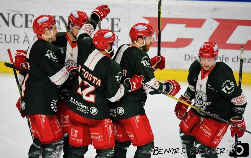 Photo hockey Division 1 - Division 1 : Cergy-Pontoise (Les Jokers) - Avant Match : Cergy vs Tours