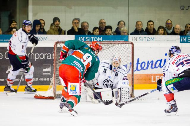 Photo hockey Division 1 - Division 1 : demi-finale, match 3 : Anglet vs Caen  - Anglet rejoint Nice