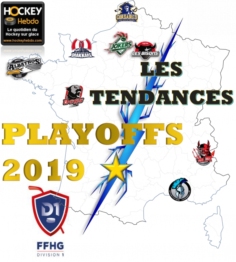 Photo hockey Division 1 - Division 1 - Division 1 - Les tendances Playoffs Demi-Finales