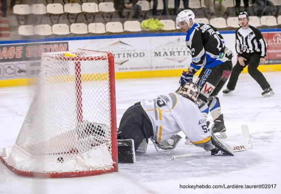Photo hockey Division 1 - Division 1 : Playoff, demi-finale, match 1 : Val Vanoise vs Brest  - D1-1/2 finale: Vanoise remporte le premier match