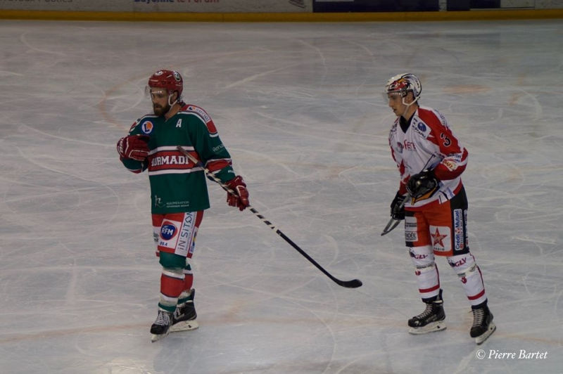 Photo hockey Division 1 - Division 1 : Playoff, quart de finale, match 2 : Anglet vs La Roche-sur-Yon - D1 : Sans trop souffrir