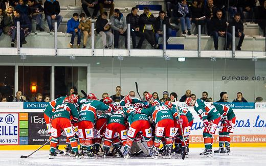 Photo hockey Division 1 - Division 1 : quart de finale, match 2 : Anglet vs Dunkerque - Anglet tient sa belle