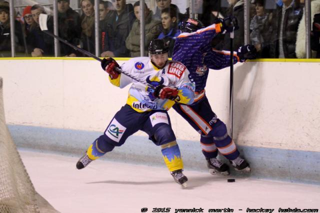 hockey sur glace division 2 d2 play off 1 8 me de finale retour clermont ferrand vs. Black Bedroom Furniture Sets. Home Design Ideas