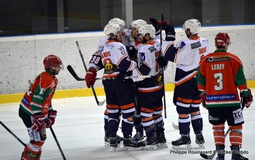 Photo hockey Division 2 - Division 2 : 6ème journée : Mont-Blanc vs Montpellier  - Les Vipers avalent le Mont-Blanc