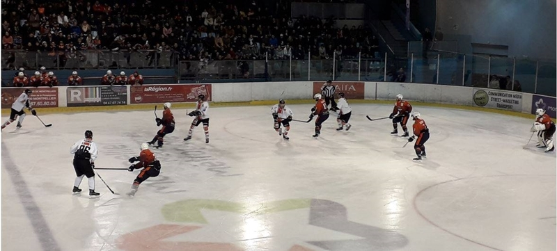 Photo hockey Division 2 - Division 2 : playoff, demi finale, match 2 : Montpellier  vs Toulouse-Blagnac - Retour en D1 pour Montpellier !