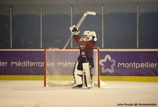 Photo hockey Division 2 - Division 2 : playoff, huitième de finale, match 2 : Montpellier  vs Rouen II - Un résultat sans surprises.