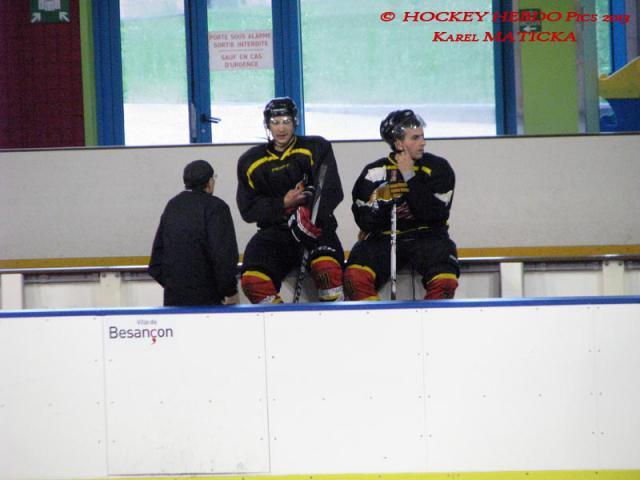 Photo hockey Division 3 - D3 : journée du 05/10/2013 : Besançon vs Orléans - Une impression douce-amère