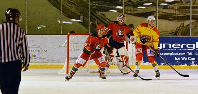 Photo hockey Division 3 - Division 3 : journée du 06 octobre 2018 : Courbevoie  vs Orléans - Les Coqs croquent les Renards