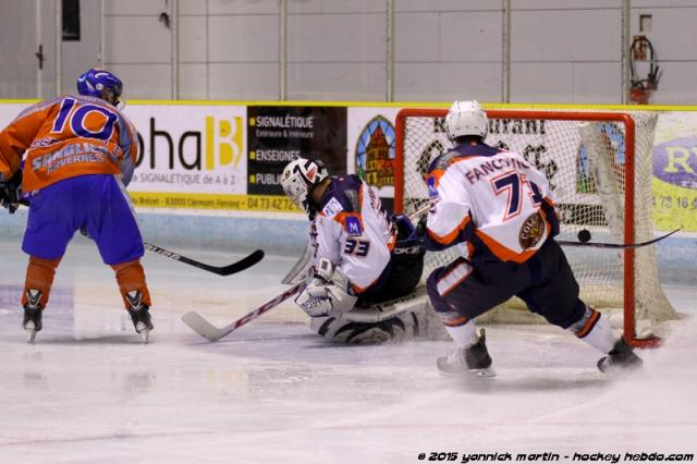 Photo hockey Division 3 - Division 3 : journée du 31 octobre 2015 : Clermont-Ferrand II vs Montpellier  - Les Vipers se font plaisir en crachant leur venin