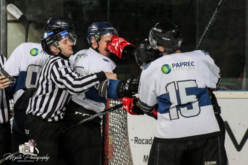 Photo hockey Division 3 - Division 3 : journées 26-27 janvier 2019 : Bordeaux II vs Nantes II - D3 - Bordeaux vs Nantes - Article et réaction