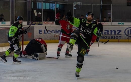 Photo hockey Division 3 - Division 3 - Playoff - Carré final, 3ème journée : Epinal  vs Courbevoie  - Epinal champion invaincu
