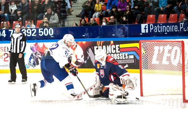 Photo hockey Equipes de France -  : France (FRA) vs Slovaquie (SVK) - La France s
