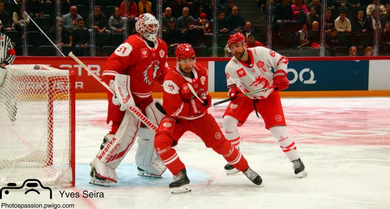Photo hockey Europe : Continental Cup - CHL -  : Lausanne vs Trinec - Lausanne continue son chemin