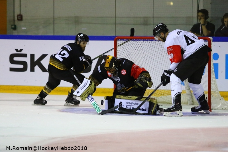 Photo hockey Europe : Continental Cup - CHL -  : Rouen vs Nuremberg - La victoire de l'espoir.
