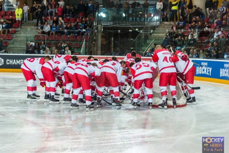 Photo hockey Europe : Continental Cup - CHL - Europe : Continental Cup - CHL - CHL : Une révolte bien trop tardive
