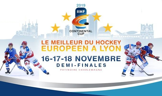 Photo hockey Europe : Continental Cup - CHL - Europe : Continental Cup - CHL - Focus sur la Coupe Continentale