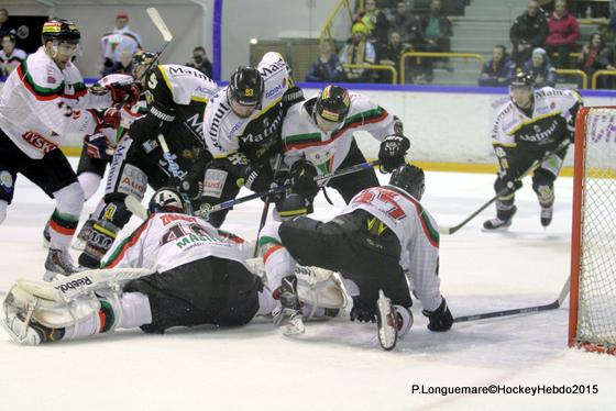 Photo hockey Europe : Continental Cup - CHL - Europe : Continental Cup - CHL : Rouen (Les Dragons) - Continental Cup J1 Match 2 : Rouen démarre bien
