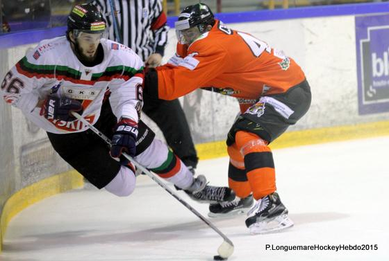 Photo hockey Europe : Continental Cup - CHL - Europe : Continental Cup - CHL : Rouen (Les Dragons) - Continental Cup J2 Match 3 : Au bout du suspense