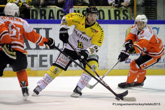 Photo hockey Europe : Continental Cup - CHL - Europe : Continental Cup - CHL : Rouen (Les Dragons) - Continental Cup J2 Match 4 : Et de deux