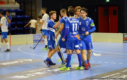Photo hockey Floorball  - Floorball  - EFCh : Les Dragons retrouvent le feu