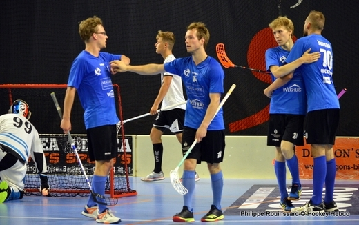 Photo hockey Floorball  - Floorball  - EFCh : Utrecht refroidit les Dragons