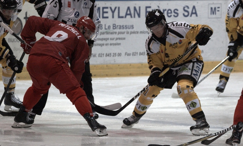 Photo hockey Hockey en Europe -  : Lausanne vs Rouen - Hockeyades 2018: Le dragon subit la loi du lion