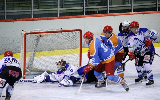 Photo hockey Hockey en France -  : Annecy vs Courchevel-Méribel-Pralognan - Le Chevalier touche le Graal !