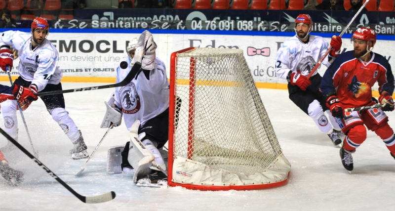 Photo hockey Hockey en France -  : Grenoble  vs Lyon - Plus qu
