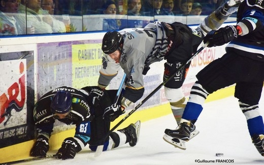 Photo hockey Hockey en France -  : Nantes  vs Brest  - Les Nantais haussent le ton