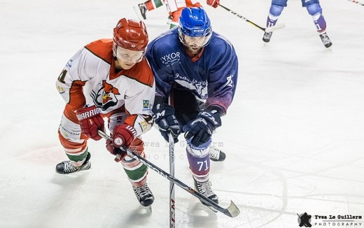 Photo hockey Hockey en France -  : Paris vs Courbevoie  - Amical : Français Volants vs Courbevoie