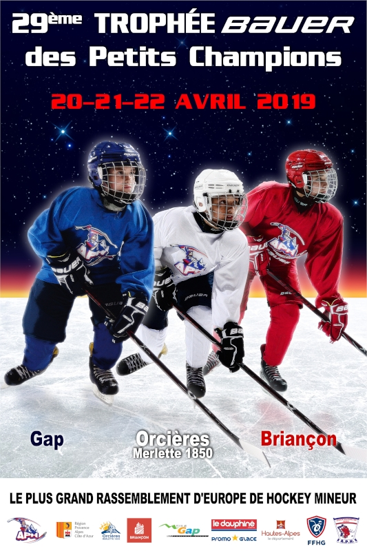 Photo hockey Hockey en France - Hockey en France - Le Trophée Bauer des Petits Champions 2019