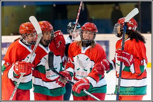 Photo hockey Hockey féminin - Hockey féminin - Fem : Reportage photos Neuilly / Marne - Mexique :