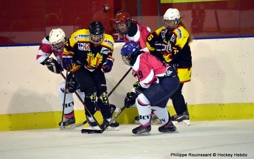 Photo hockey Hockey féminin - Hockey féminin - Fem Elite : Bon départ des Bisontines