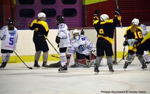Photo hockey Hockey féminin - Hockey féminin - Fem Elite : Dans les serres de l