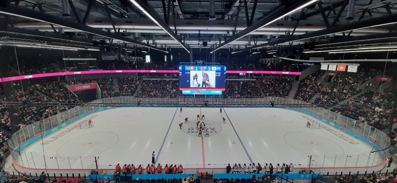 Photo hockey Jeux olympiques -  : Suisse (SUI) vs Japon (JPN) - Japon leader