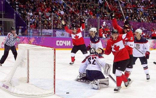 Photo hockey Jeux olympiques - Jeux olympiques - JO : Le Canada enfin(ale)