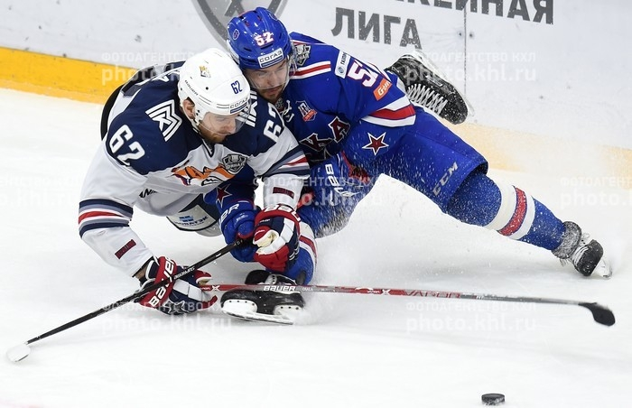 Photo hockey KHL - Kontinental Hockey League - KHL - Kontinental Hockey League - KHL : Au bout du bout