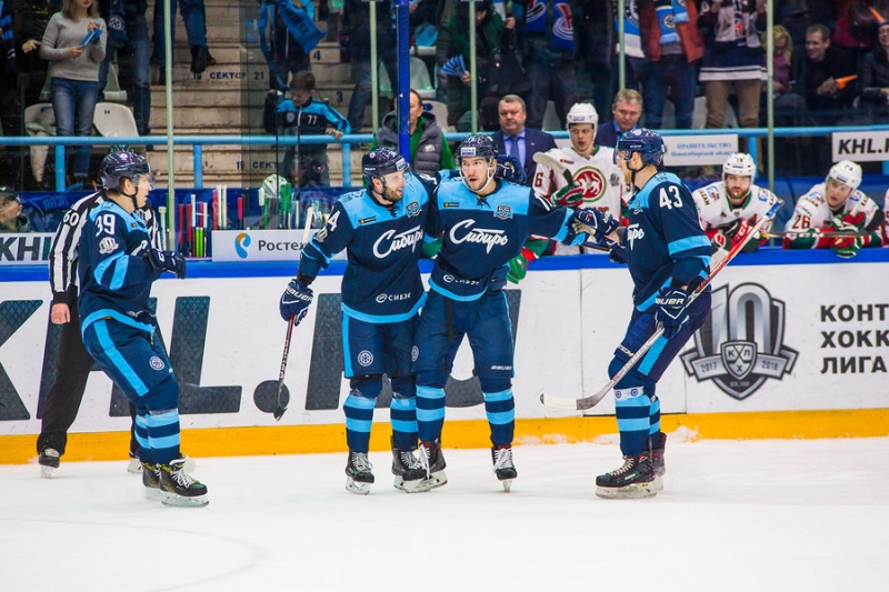 Photo hockey KHL - Kontinental Hockey League - KHL - Kontinental Hockey League - KHL : De la neige en fin d