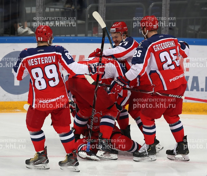 Photo hockey KHL - Kontinental Hockey League - KHL - Kontinental Hockey League - KHL : De retour en finale