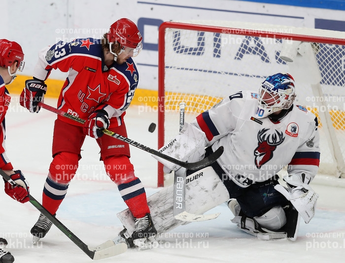 Photo hockey KHL - Kontinental Hockey League - KHL - Kontinental Hockey League - KHL : Et de deux !