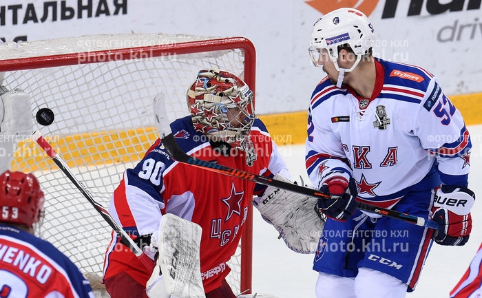 Photo hockey KHL - Kontinental Hockey League - KHL - Kontinental Hockey League - KHL : La puissance de feu